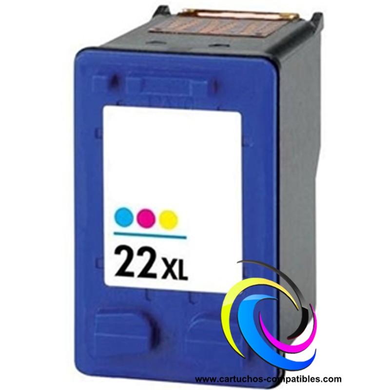 HP Nº 22 XL Color compatible